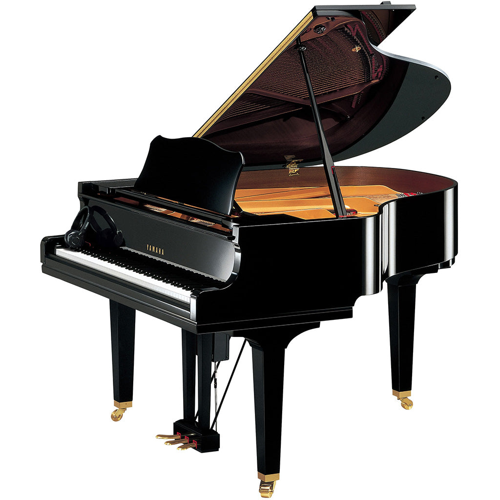 Yamaha DGC1MENST Disklavier Baby Grand Piano - Polished Ebony