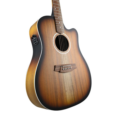 Cole Clark - Fat Lady 2EC - All Blackwood Sunburst