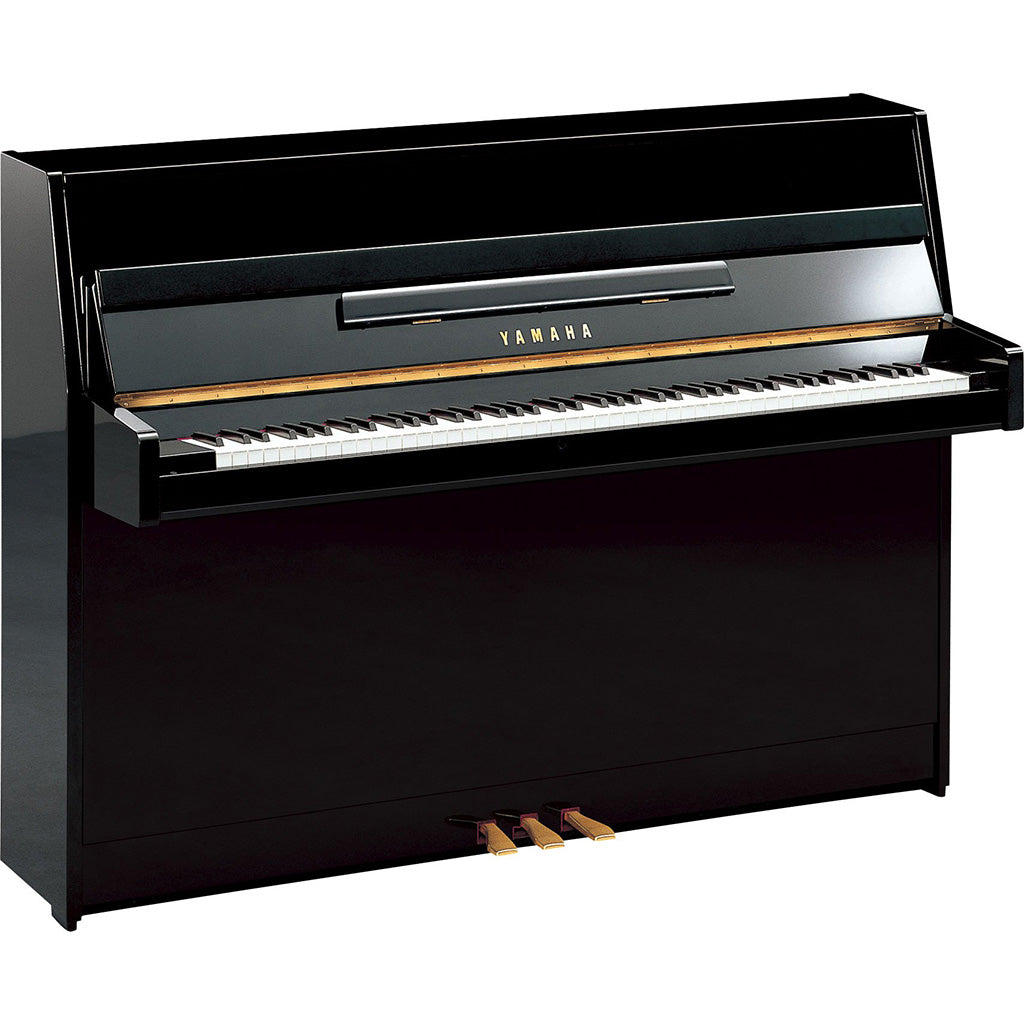 Yamaha JU109PE Upright Piano - Polished Ebony