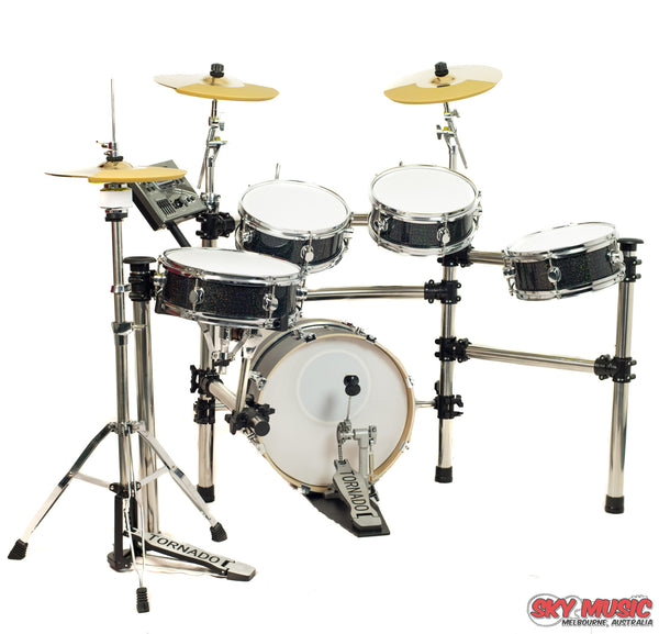 EDS 908-175 Electronic Drum Kit - front