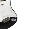Fender Custom Shop Private Collection HAR Stratocaster - Black - Masterbuilt by Dennis Galuszka - Controls