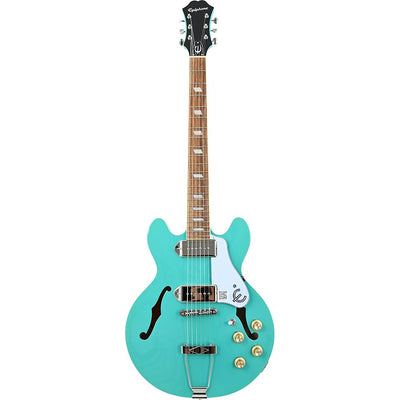 Epiphone Casino Coupe - Turquoise - Front