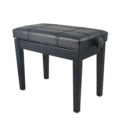 Adjustable Piano Bench (Small) - Black