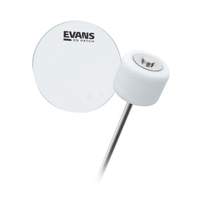 Evans - EQ Clear Plastic - Single Patch