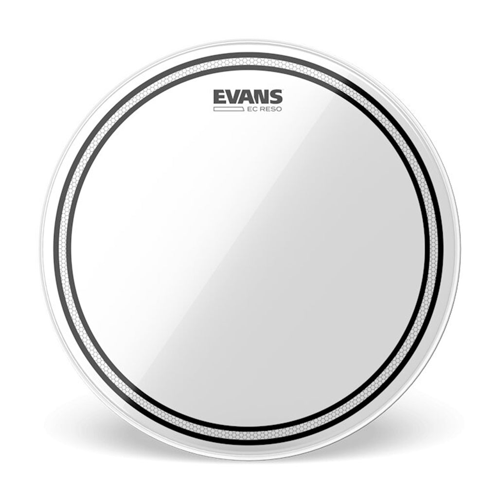 "Evans - 12"" EC Resonant - Clear"