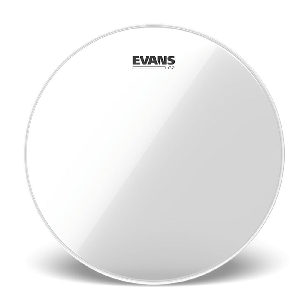 "Evans - 10"" G2 - Clear"
