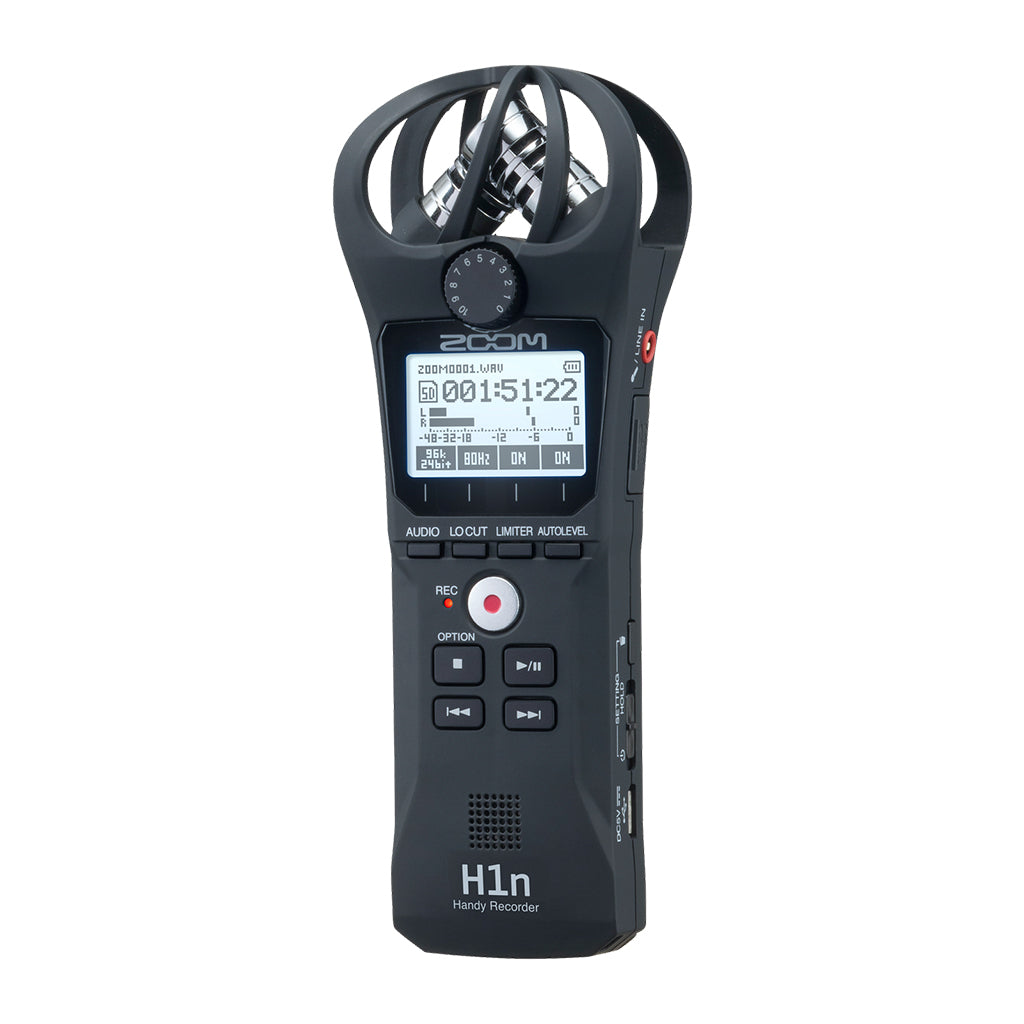 Zoom - H1n - 2-channel Handy Recorder