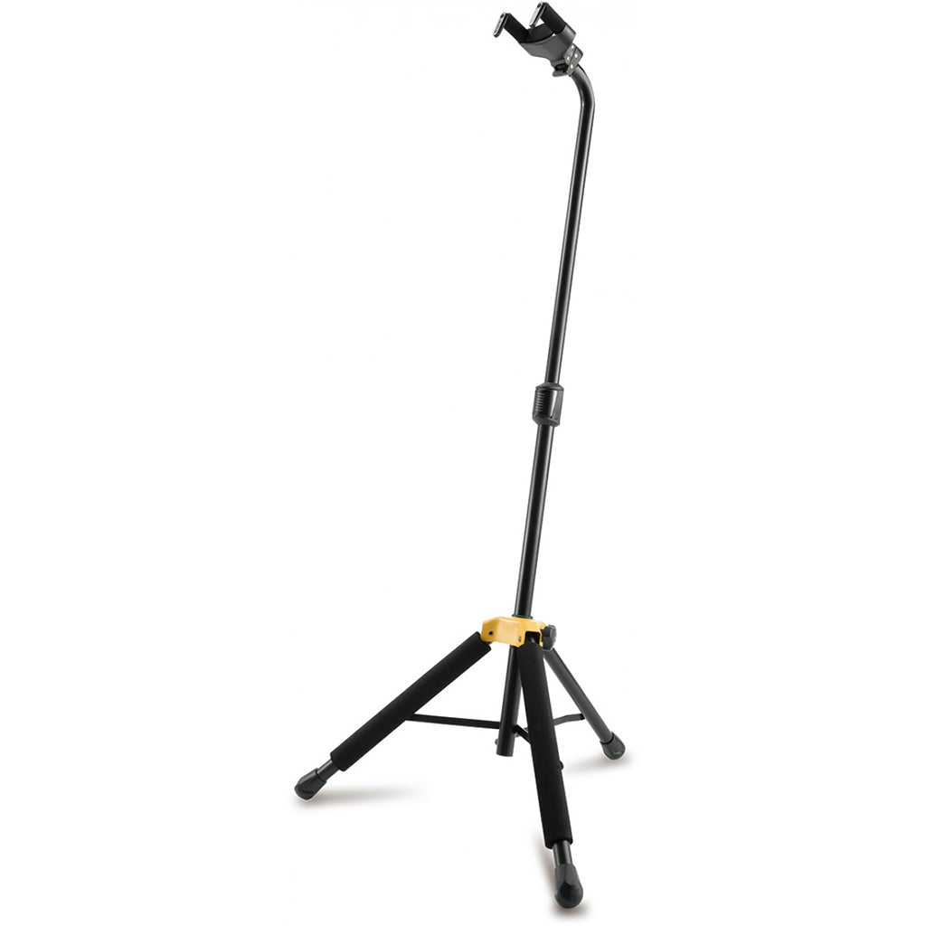 Hercules 05/GS414BPLUS Auto Grab Single Guitar Stand with Leg Rest