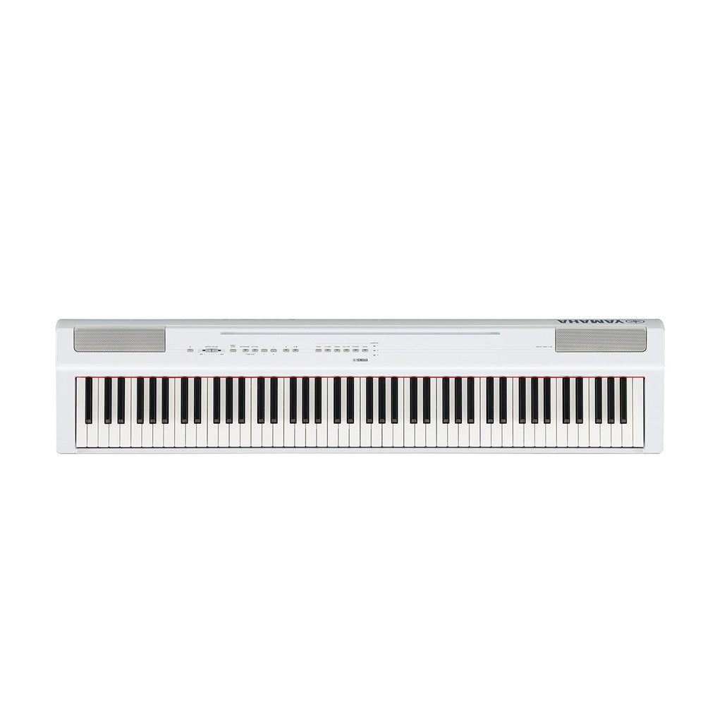 Yamaha P125WH Digital Piano - White