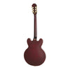 Epiphone Limited Edition Riviera Custom P93 - Wine Red - Back