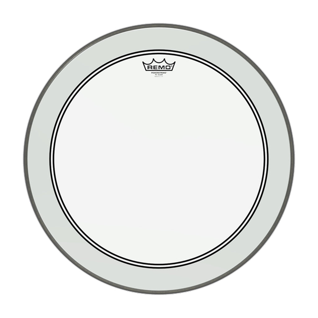 "Remo - 12"" - Powerstroke 3 Clear"