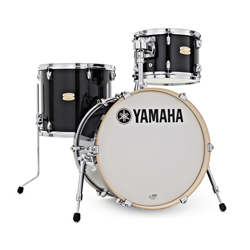 Yamaha Stage Custom Bop Shell Pack - Raven Black Lacquer