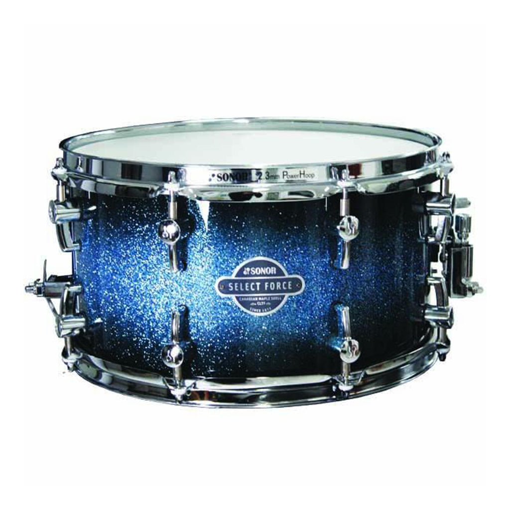 "Sonor - Select Force 13"" x 7"" - Maple Snare Drum - Galaxy Blue"