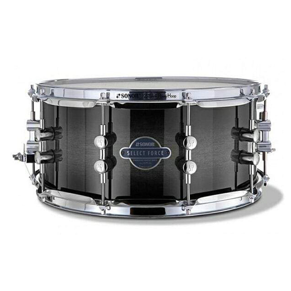 "Sonor - Select Force 14"" x 6.5"" - Maple Snare Drum - Transparent Black"