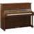 Yamaha U1SAWQ Upright Piano - Satin American Walnut