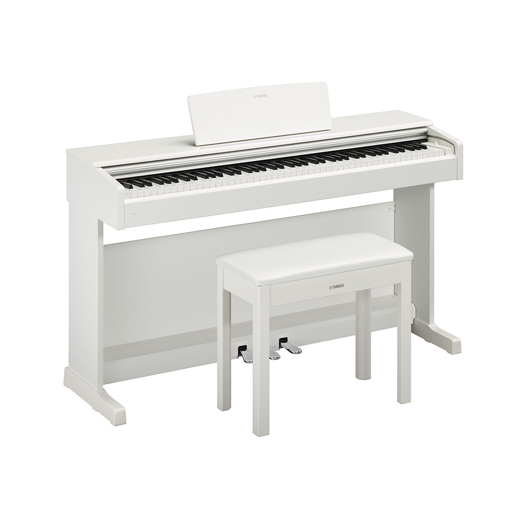 Yamaha YDP144 White Digital Piano