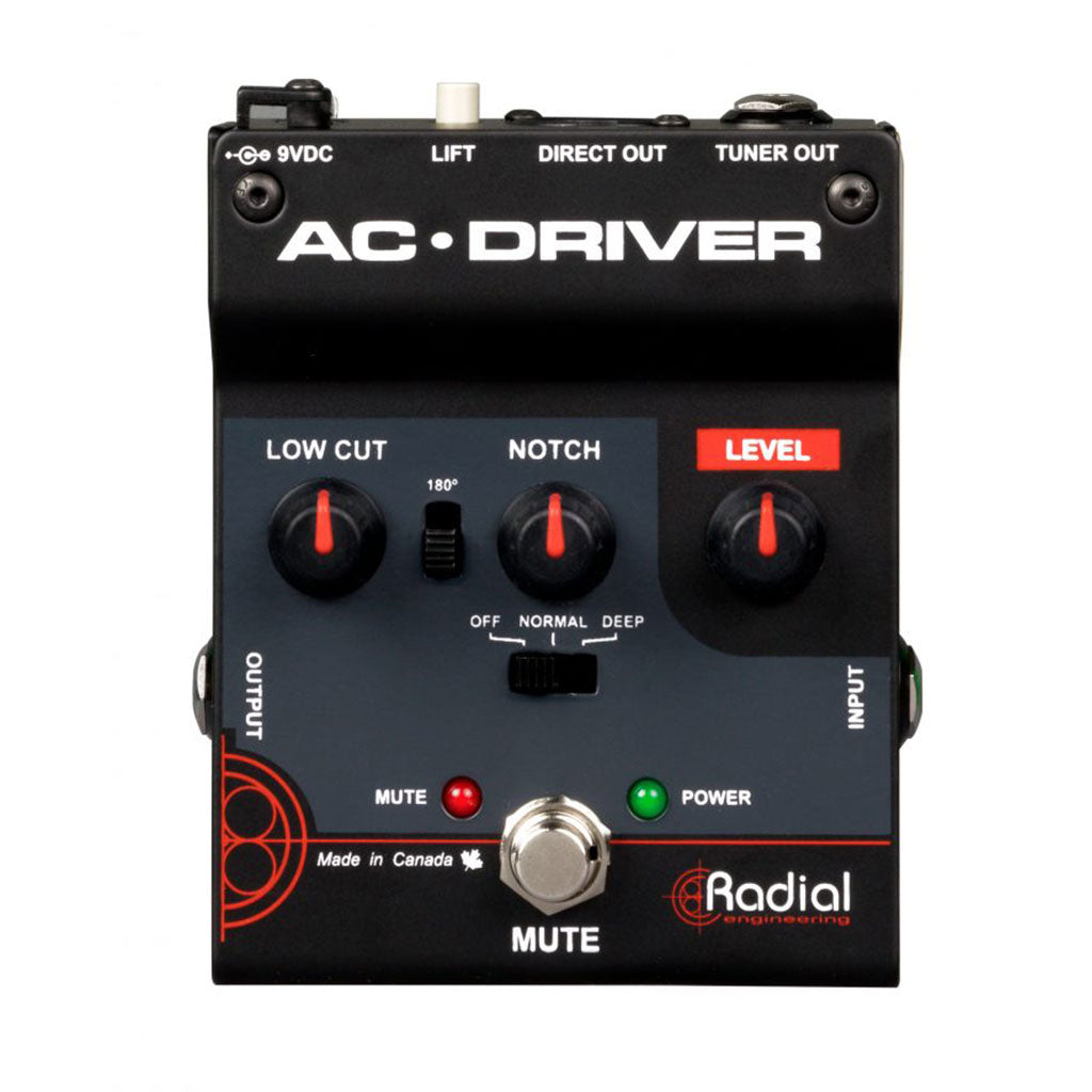 Radial AC-DRIVER - Acoustic Preamp with Feedback Control