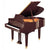 Yamaha GC1MSAW Baby Grand Piano - Satin American Walnut