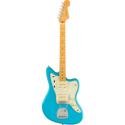Fender - American Professional II Jazzmaster® - Maple Fingerboard - Miami Blue