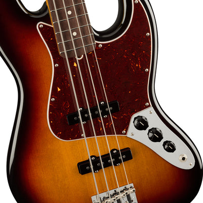 Fender - American Professional II Jazz Bass® - Rosewood Fingerboard - 3-Color Sunburst