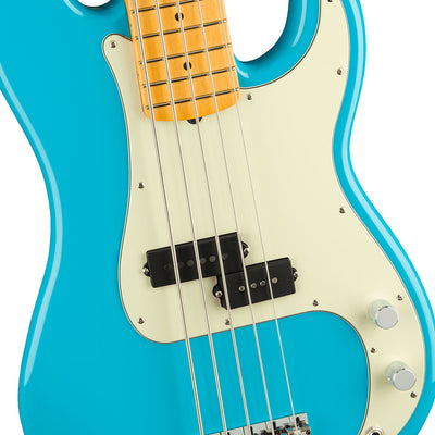 Fender - American Professional II Precision Bass® V - Maple Fingerboard - Miami Blue