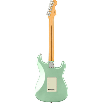 Fender - American Professional II Stratocaster® Left-Hand - Maple Fingerboard - Mystic Surf Green