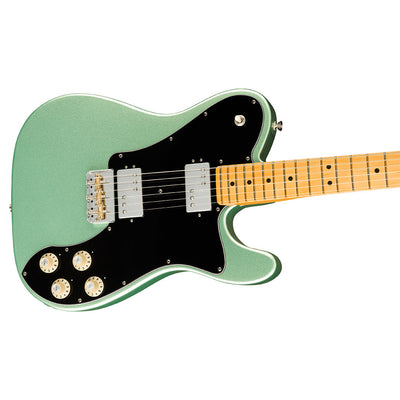 Fender - American Professional II Telecaster® Deluxe - Maple Fingerboard - Mystic Surf Green