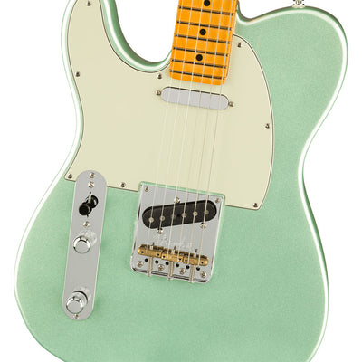 Fender - American Professional II Telecaster® Left-Hand - Maple Fingerboard - Mystic Surf Green
