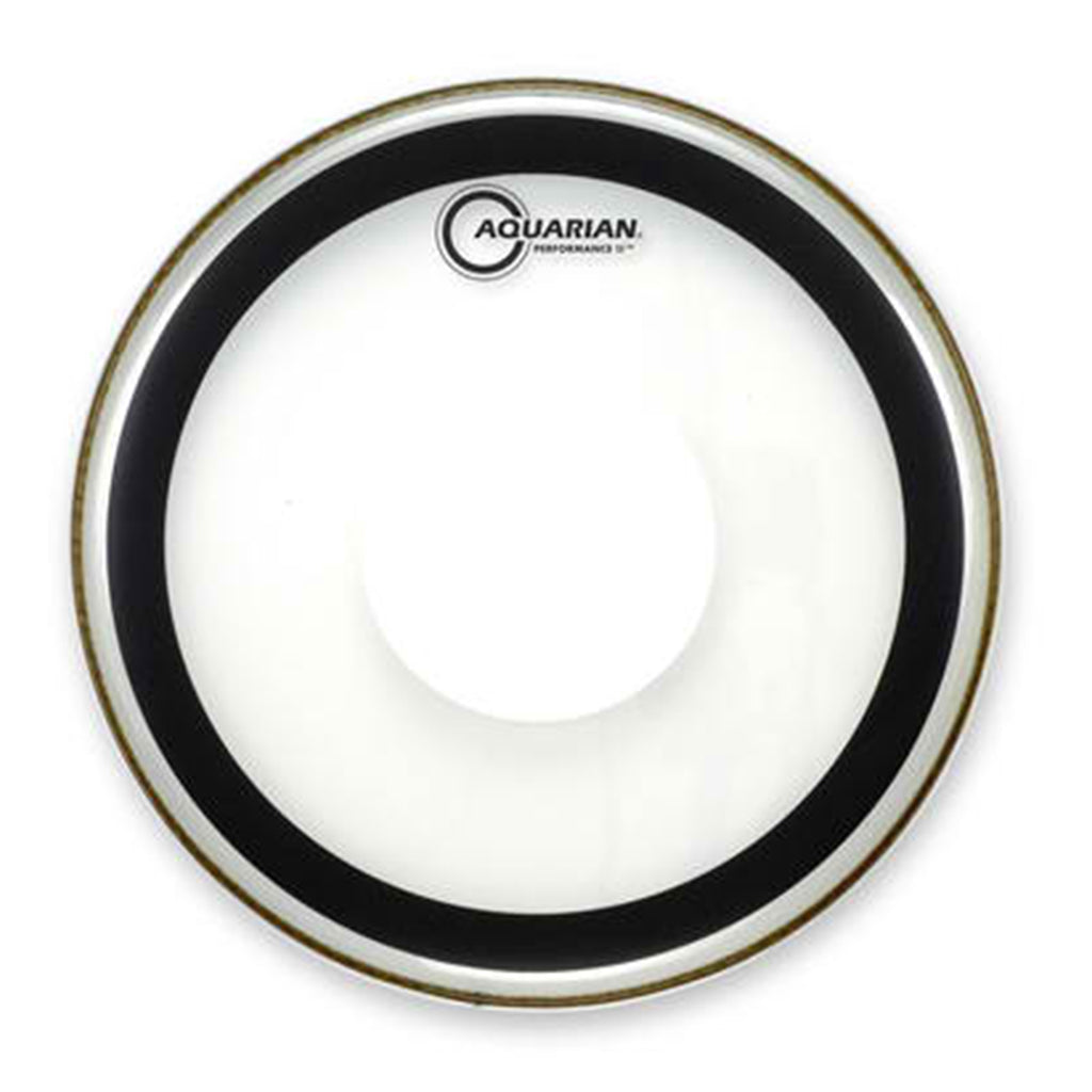 "Aquarian - 13"" - Performance II - Clear w Power Dot"