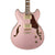 Ibanez AS73G Artcore Guitar - Rose Gold Metallic Flat