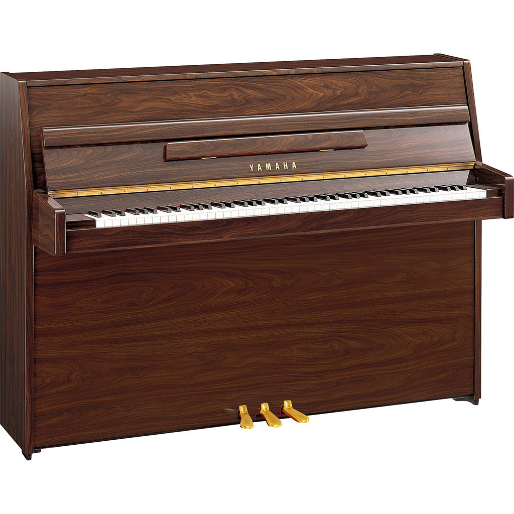 Yamaha JU109PW Upright Piano Polished Walnut