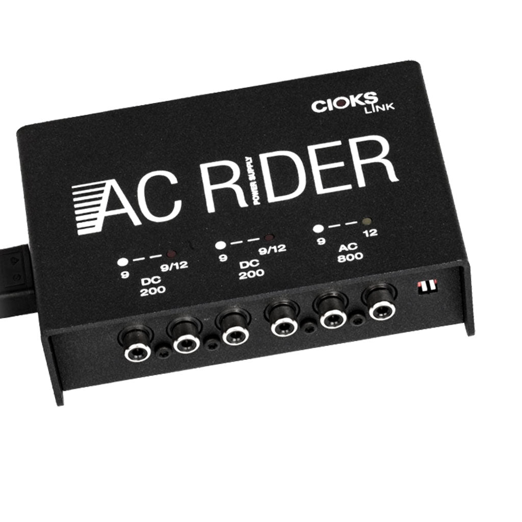 Cioks AC RIDER LINK - 6 Outlets In 3 Isolated Sections, DC & AC
