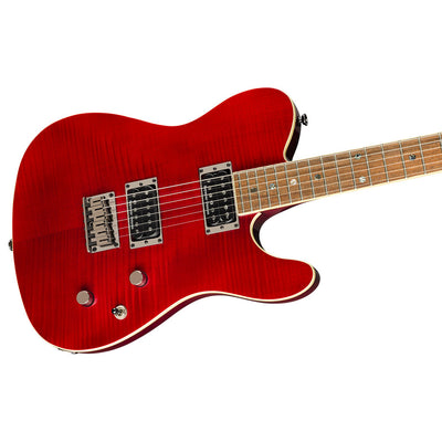 Fender Special Edition Custom Telecaster HH - Flame Maple Crimson Red Transparent