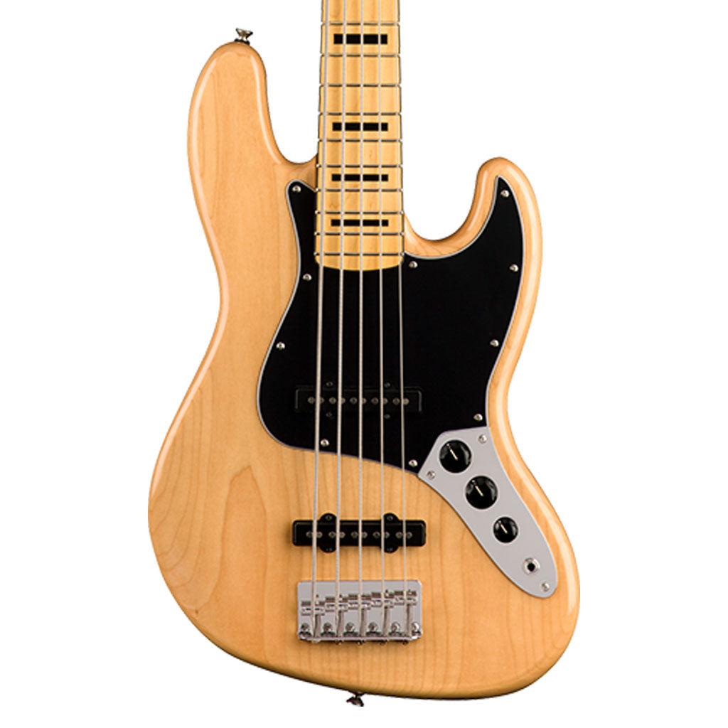 Squier Classic Vibe 70's Jazz Bass V - Natural - Maple Neck