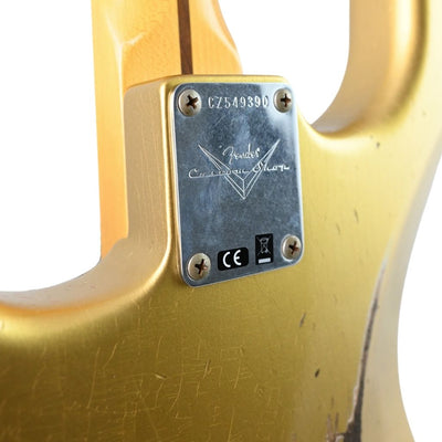 Fender Custom Shop 1957 Stratocaster Relic - Aged HLE Hayne's Limited Edition Gold
