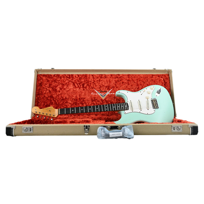 Fender Custom Shop - 2020 '64 Stratocaster Journeyman Relic -  Faded Surf Green