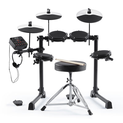 Alesis - Debut Kit - 5-Piece Electronic Drum Kit with Stool and Headphones
