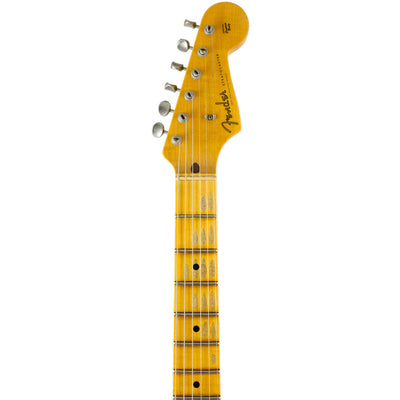 Fender Custom Shop - 2019 Limited '55 Dual-Mag Stratocaster - Super Faded Candy Apple Red