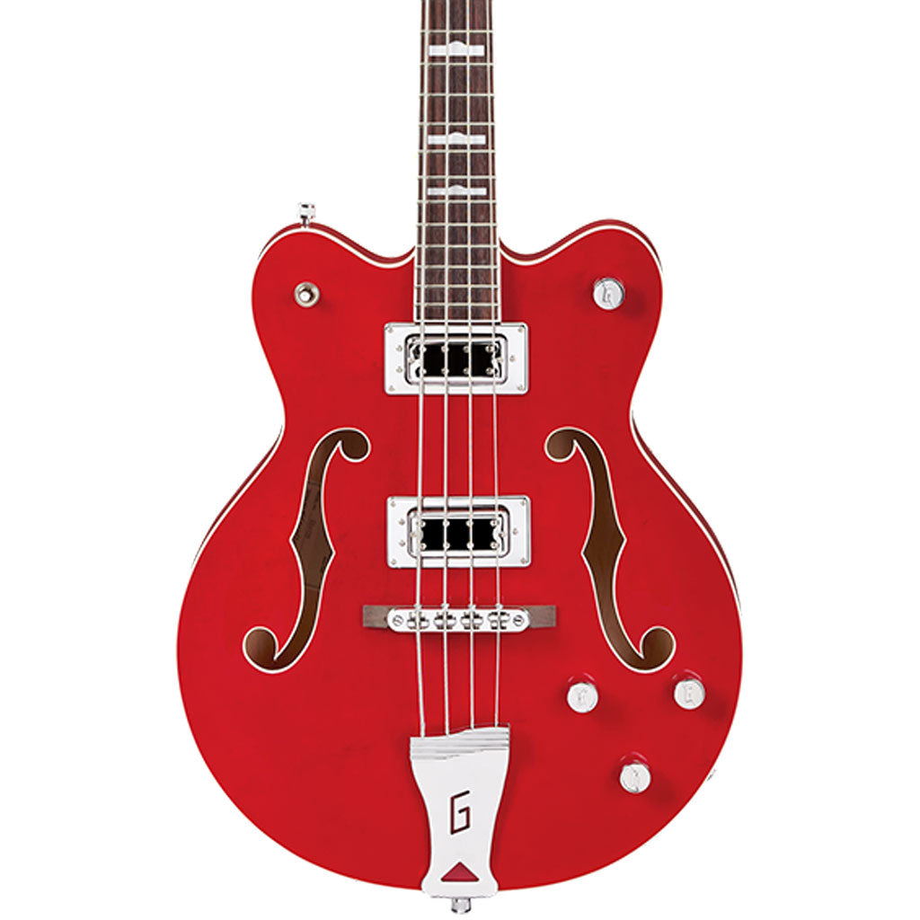 Gretsch G5442BDC Electromatic Bass - Trans Red
