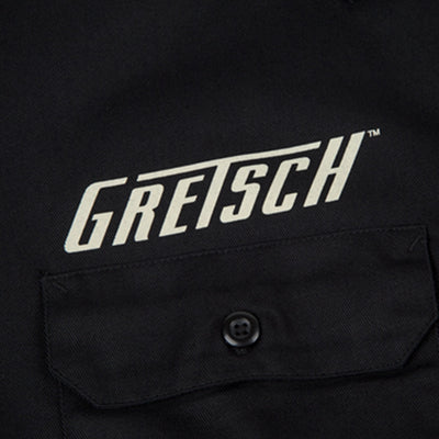 Gretsch Work Shirt - Electromatic - Black - Medium