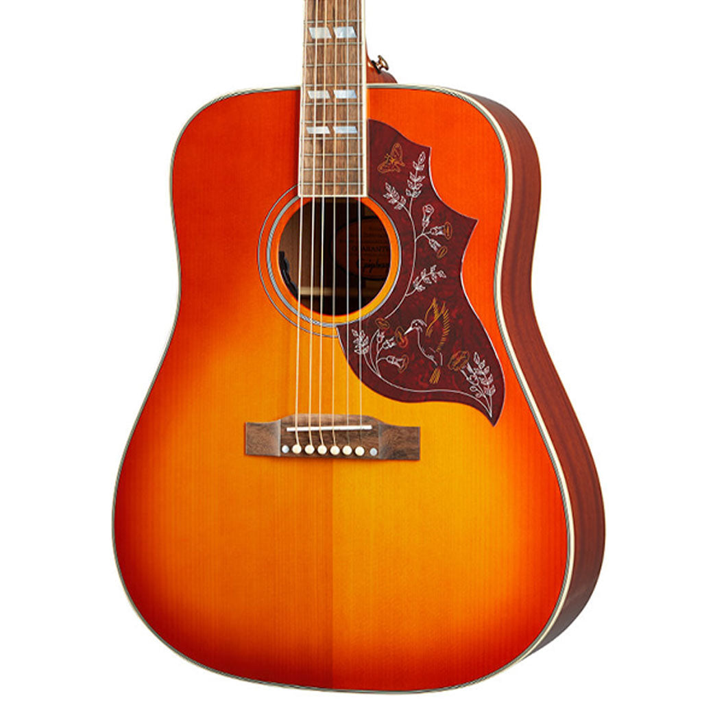 Epiphone Inspired by Gibson Hummingbird - Aged Heritage Cherry Sunburst
