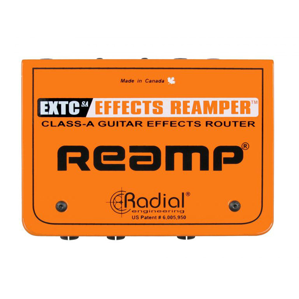 Radial EXTC-SA - Effects Loop Interface Connects Guitar Pedals to the Recording System