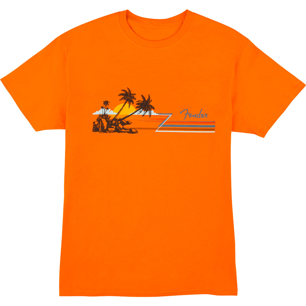 Fender Hang Loose Unisex T-Shirt - Orange