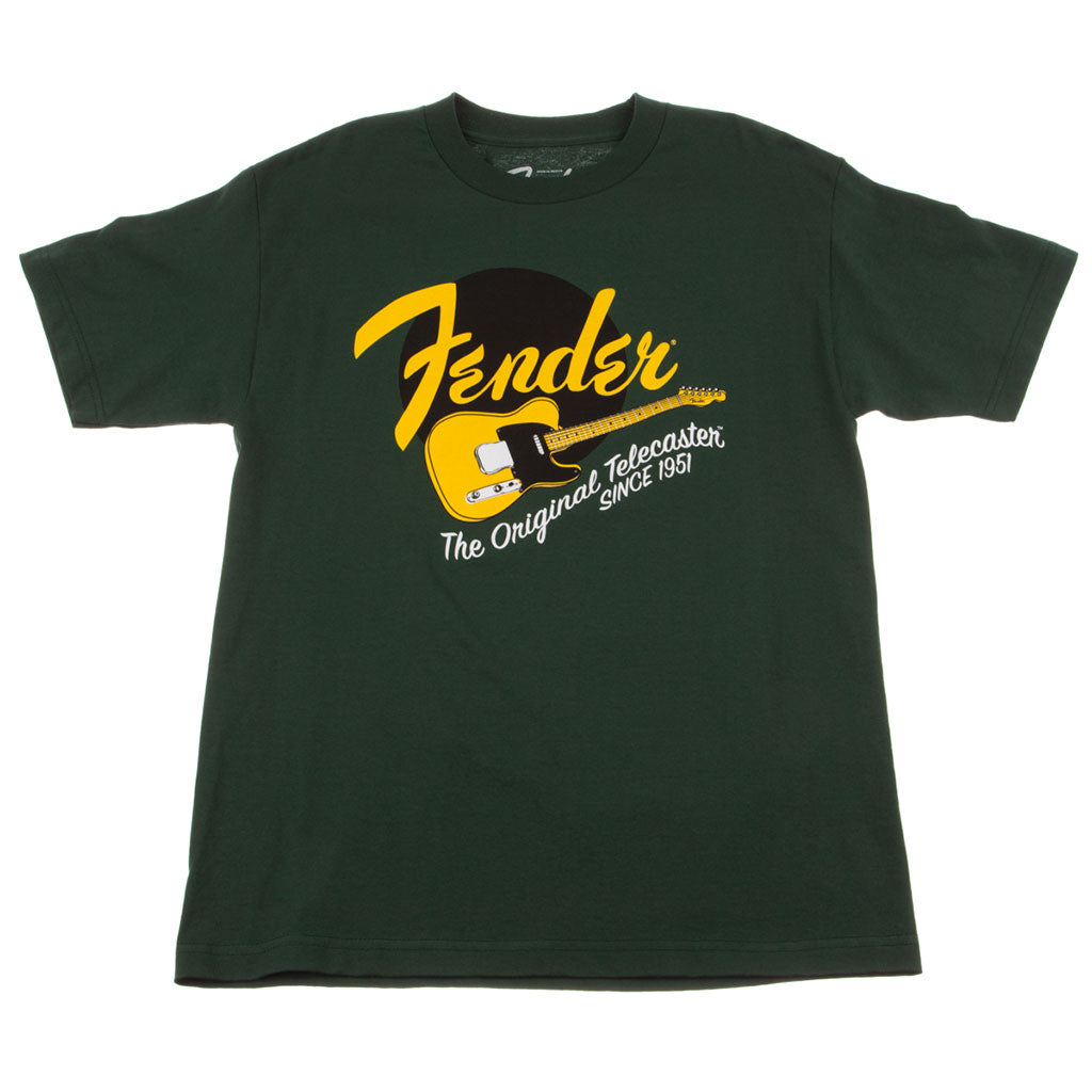 Fender Original Tele T-Shirt - Green - XL