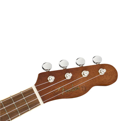 Fender Seaside Soprano Ukulele Pack - Natural Walnut