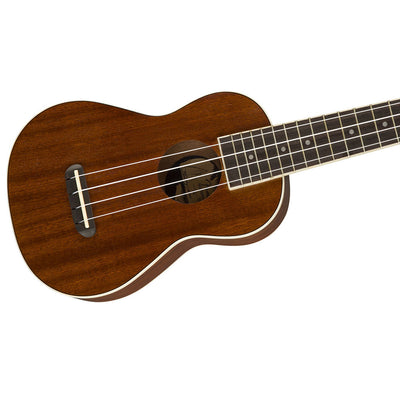 Fender Seaside Soprano Ukulele Pack - Natural NRW