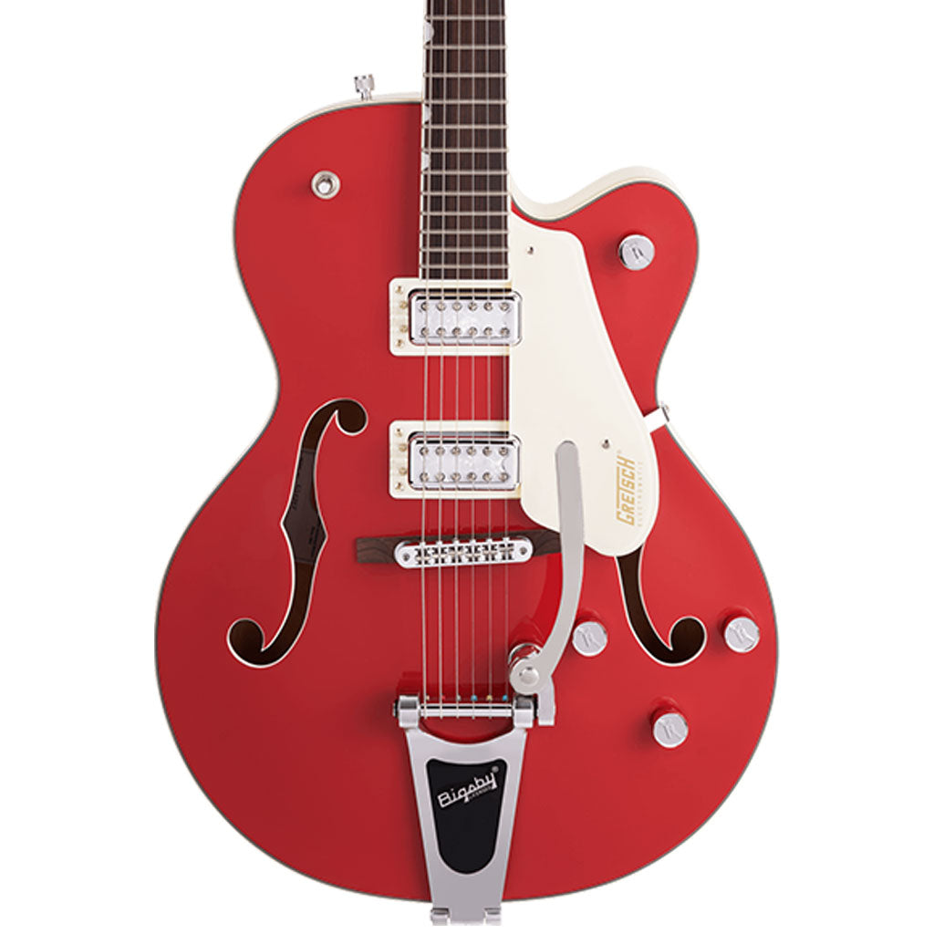 Gretsch - G5410T Limited Edition Electromatic® Tri-Five Hollow Body Single-Cut with Bigsby® - Rosewood Fingerboard - Two-Tone Fiesta Red/Vintage White