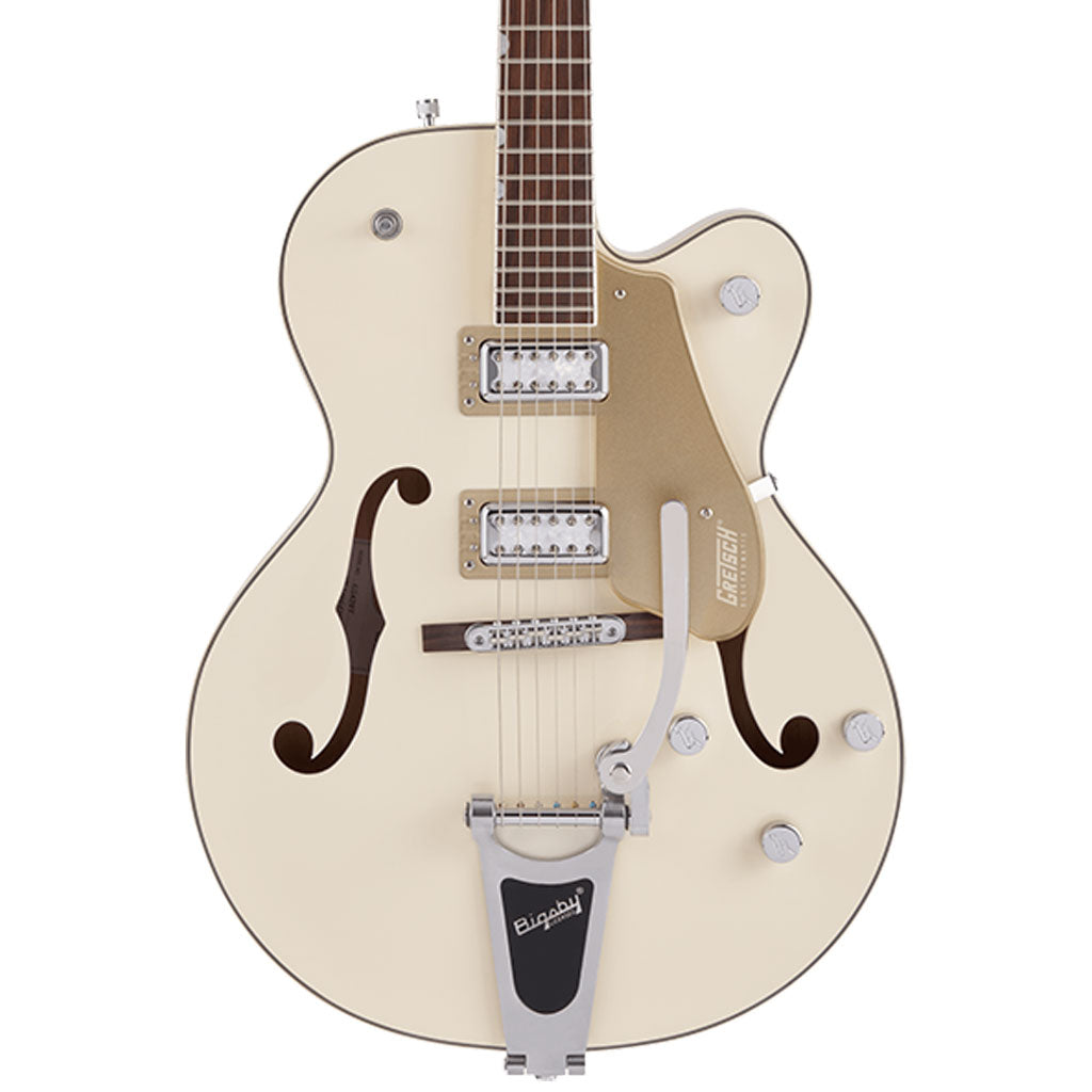 Gretsch - G5410T Limited Edition Electromatic® Tri-Five Hollow Body Single-Cut with Bigsby® - Rosewood Fingerboard - Two-Tone Vintage White/Casino Gold