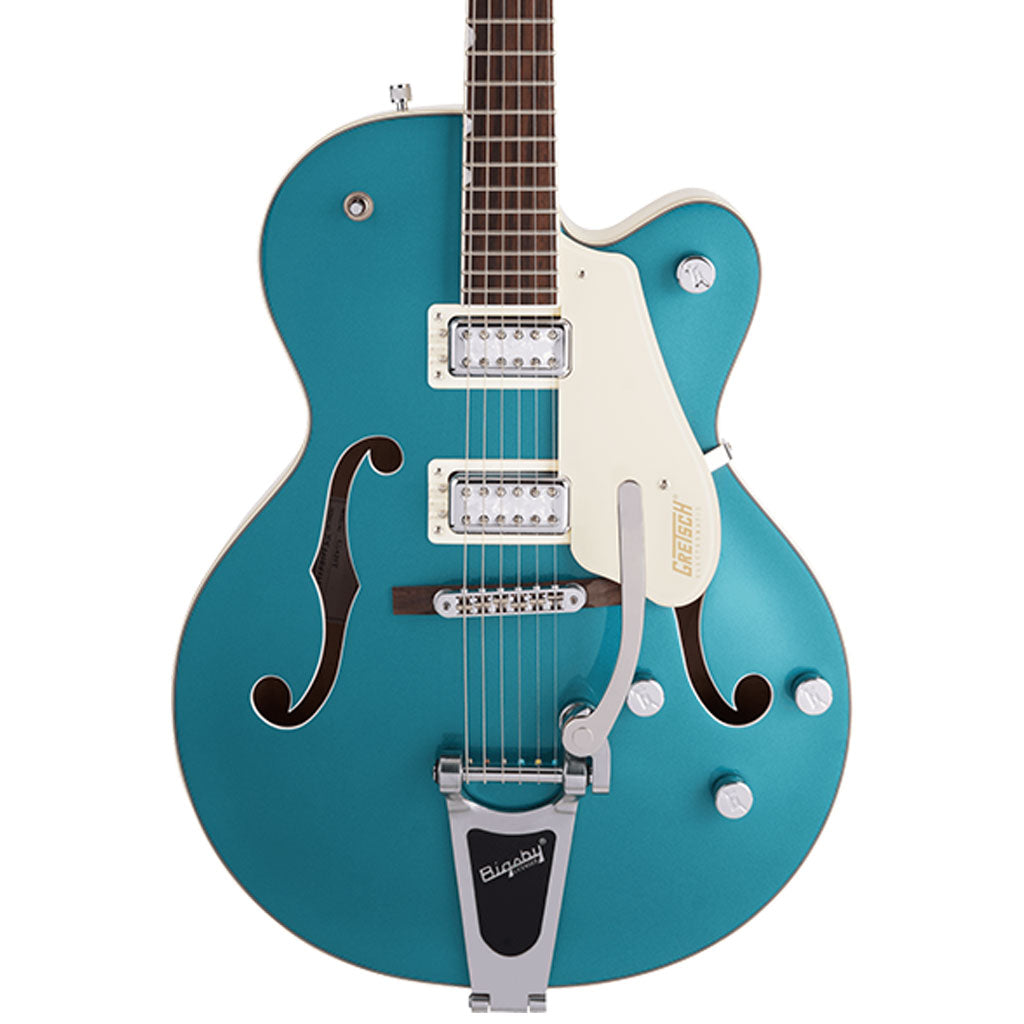 Gretsch - G5410T Limited Edition Electromatic® Tri-Five Hollow Body Single-Cut with Bigsby®, Rosewood Fingerboard, Two-Tone Ocean Turquoise/Vintage White