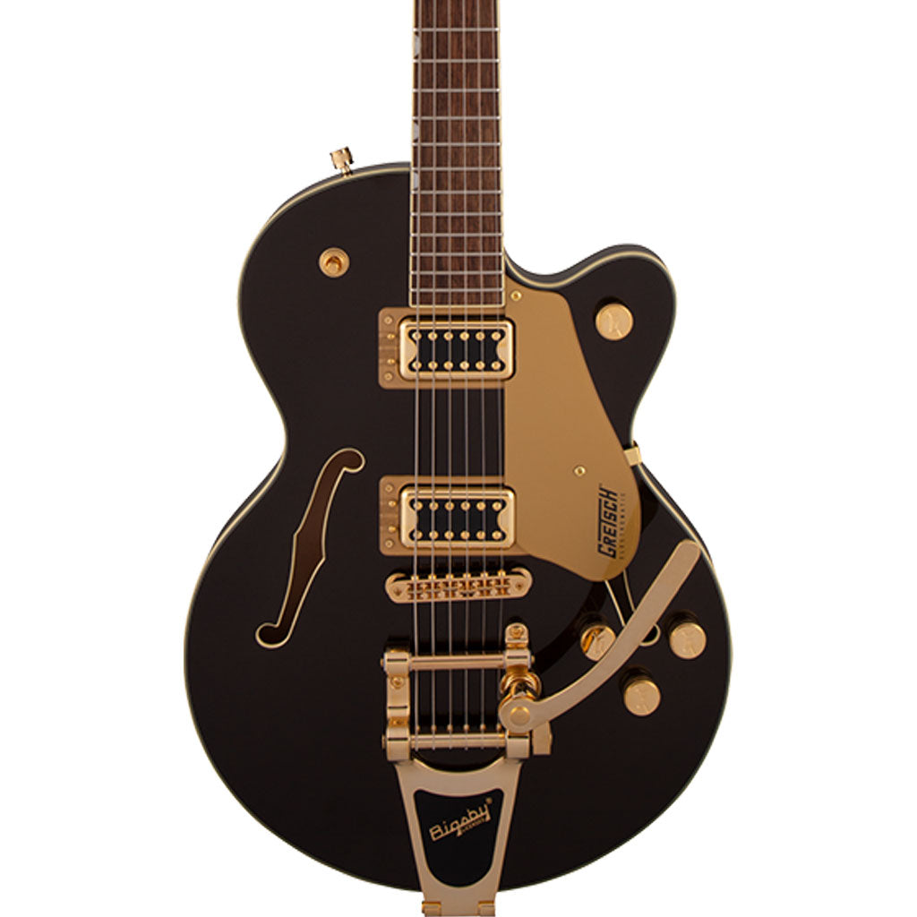 Gretsch - G5655TG Electromatic® Center Block Jr. Single-Cut with Bigsby® - Laurel Fingerboard - Black Gold